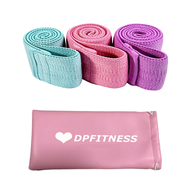 3 Resistance Levels Fabric Hip Circle Band Resistance booty band
