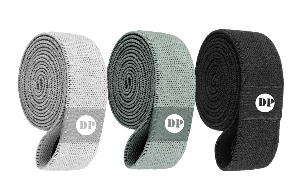 wholesale 3 Set Customize Hip Elastic Booty Band Fitness Light/Medium/Heavy Fabric band
