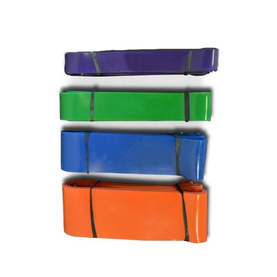 5 pieces rubber stretch fitness band latex resistance band