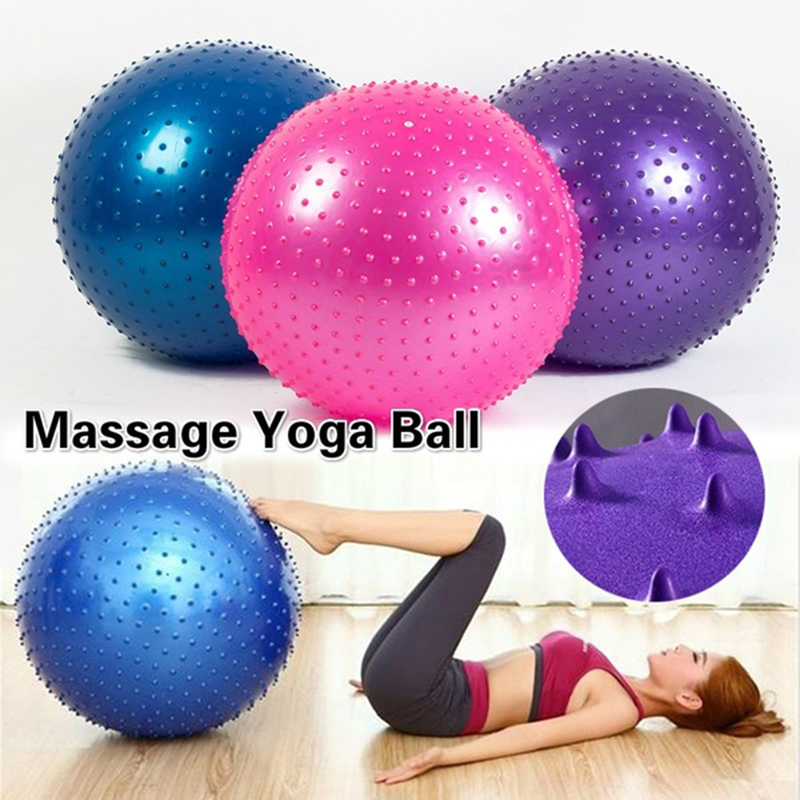 55cm 65cm 75cm Pvc workout Gym Yoga Ball With Air Pump