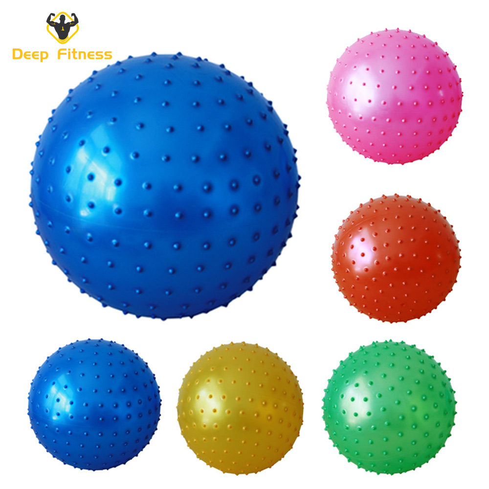Anti burst Customized logo PVC Fitness yoga ball for Yoga Exercise
