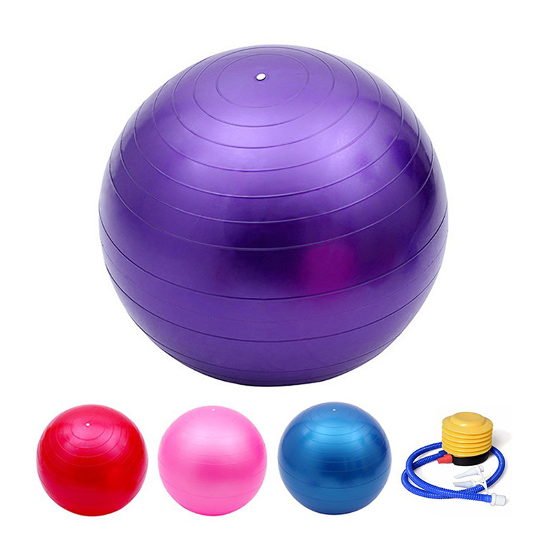 Anti-burst Fitness Exercise Stability Swiss Yoga Ball with pump
