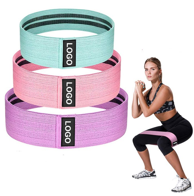 Booty Bands Workout Resistance customized high quality Hip circle Band