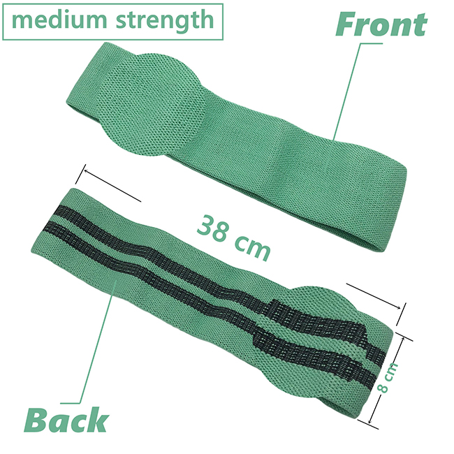 Booty Hip Bands For Fitness,Glute Non slip fabric resistance bands