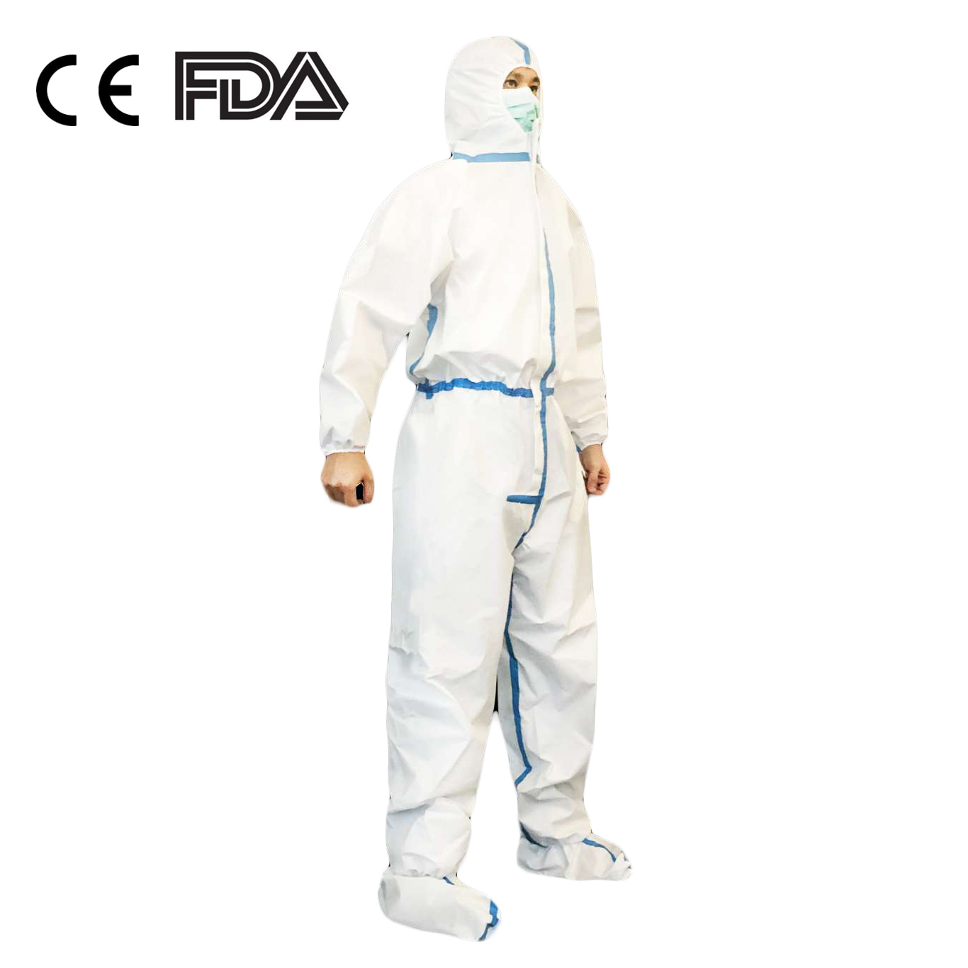 Civil Virus Coverall Suit Protects Disposable Hospital Safety Suit