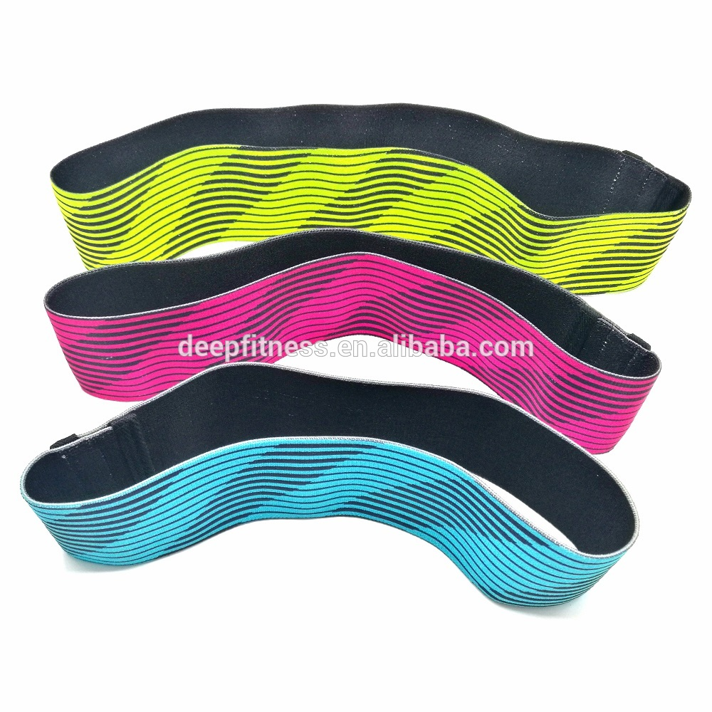 Colorful Elastic Resistance Bands Fabric Fitness Exercise Hip Circle band