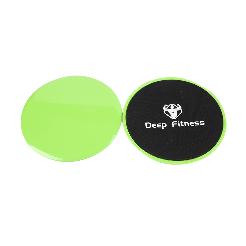Core Sliders,Exercise Sliders Fitness,2 Pack Dual Sided Strength Slides,Use on All Surfaces(Carpet or Hardwood Floors),Perfect for Abdominal&Core Workouts