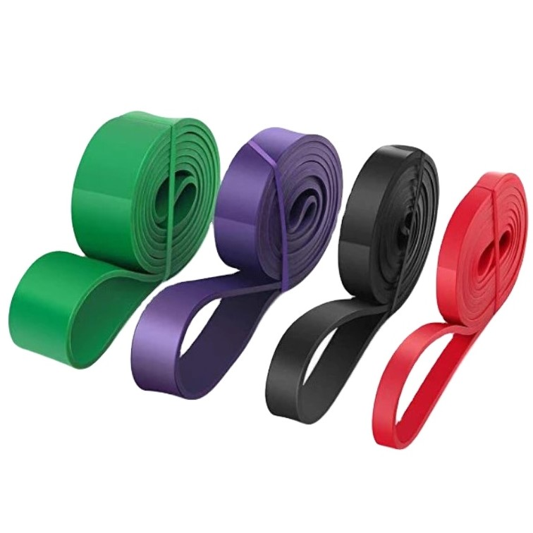 Custom label Pull Up Assist Band Elastic Durable Stretching band