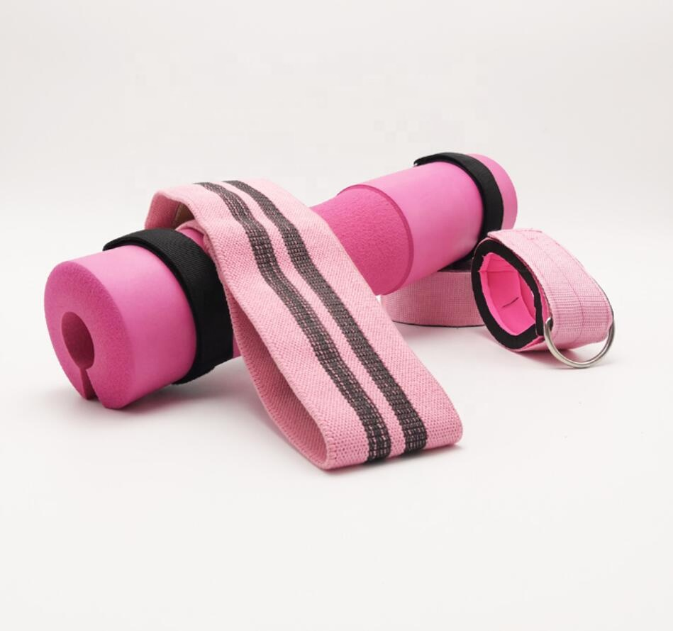Customized Portable Foam Barbell Squat Pad to Support Neck & Shoulder, for Squats, Lunges, Hip Thrusts and Weight Lifting