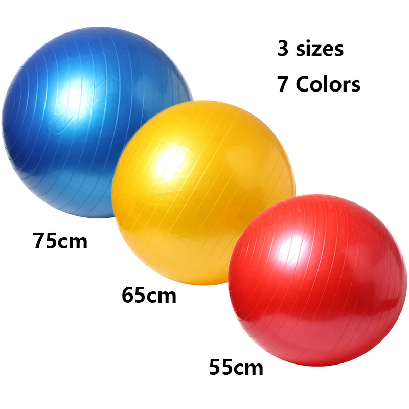 Deep Fitness anti burst PVC custom Yoga Ball Gym Ball Birthing ball