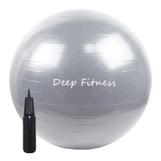 ECO friendly Anti Burst Gym Exercise Yoga Ball custom logo