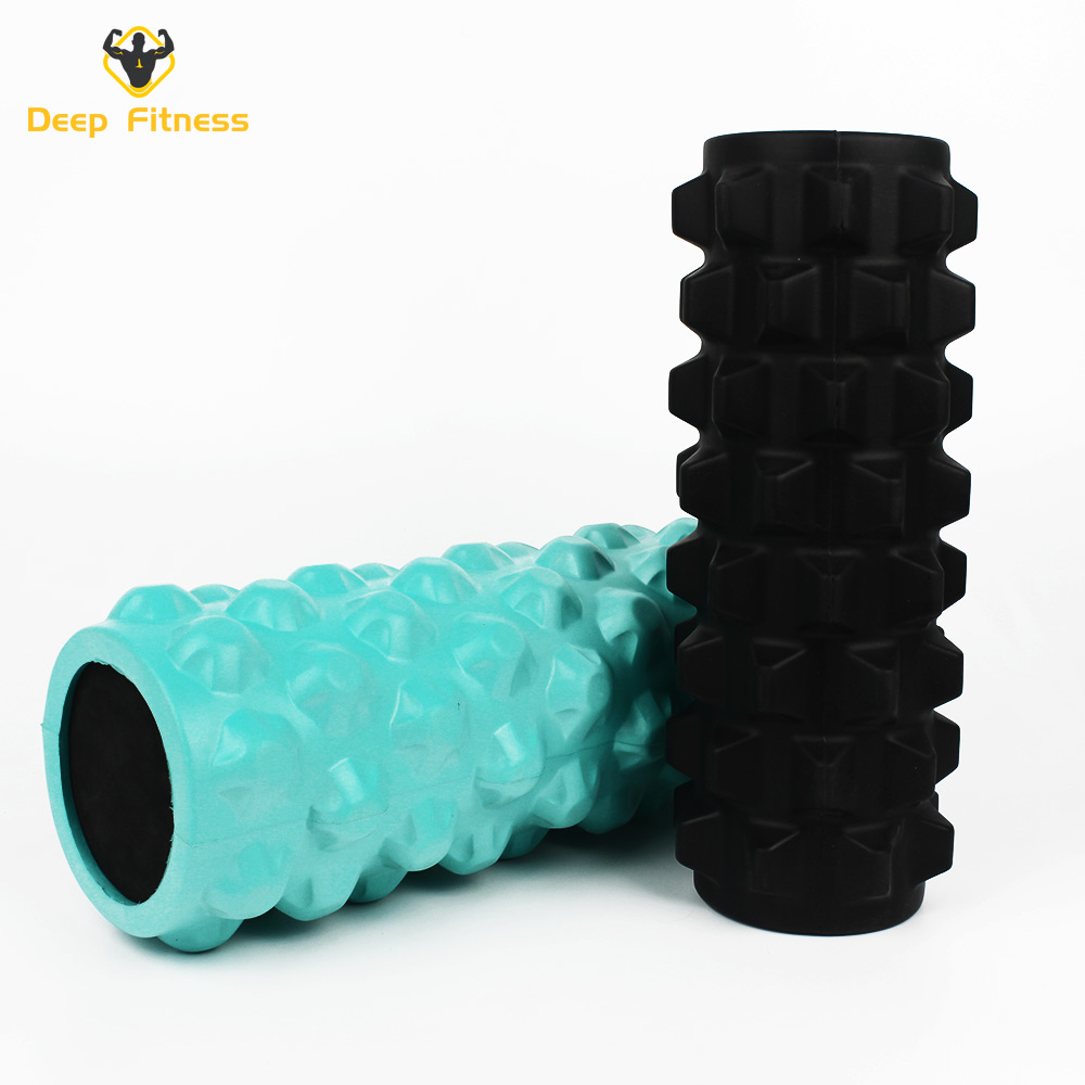 EVA soild high density foam yoga roller for body fitness and massage muscle relax