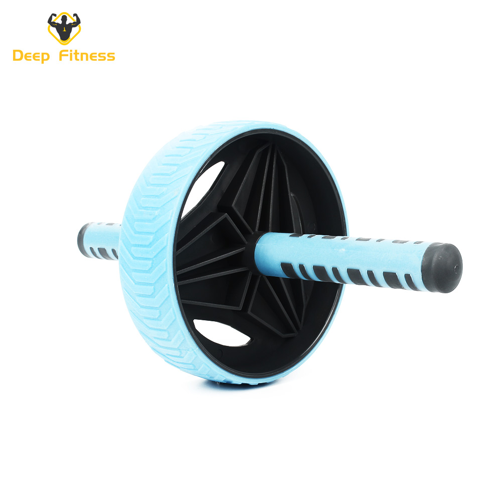 Easy Grip Handles Abdominal Workout Ab wheel