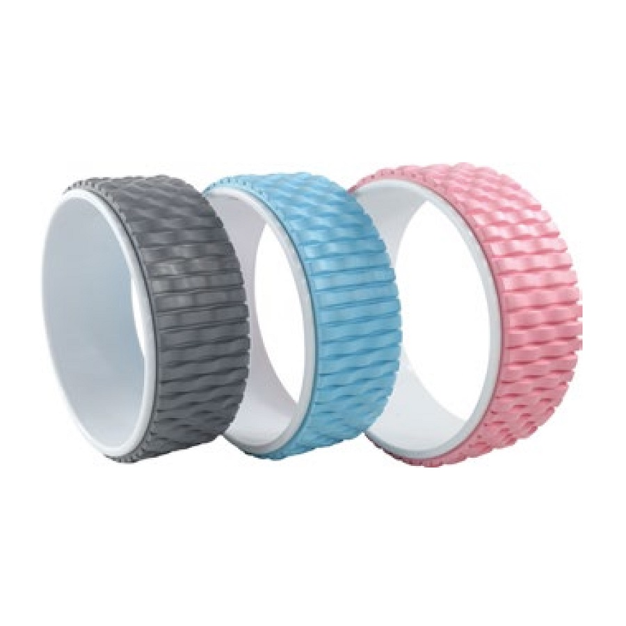 Eco friendly Yoga ABS Yoga Balance dharma Wheel Custom,Fitness Gym Exercise TPE Yoga Wheel roller ,PP and EVA Wheel For Yoga