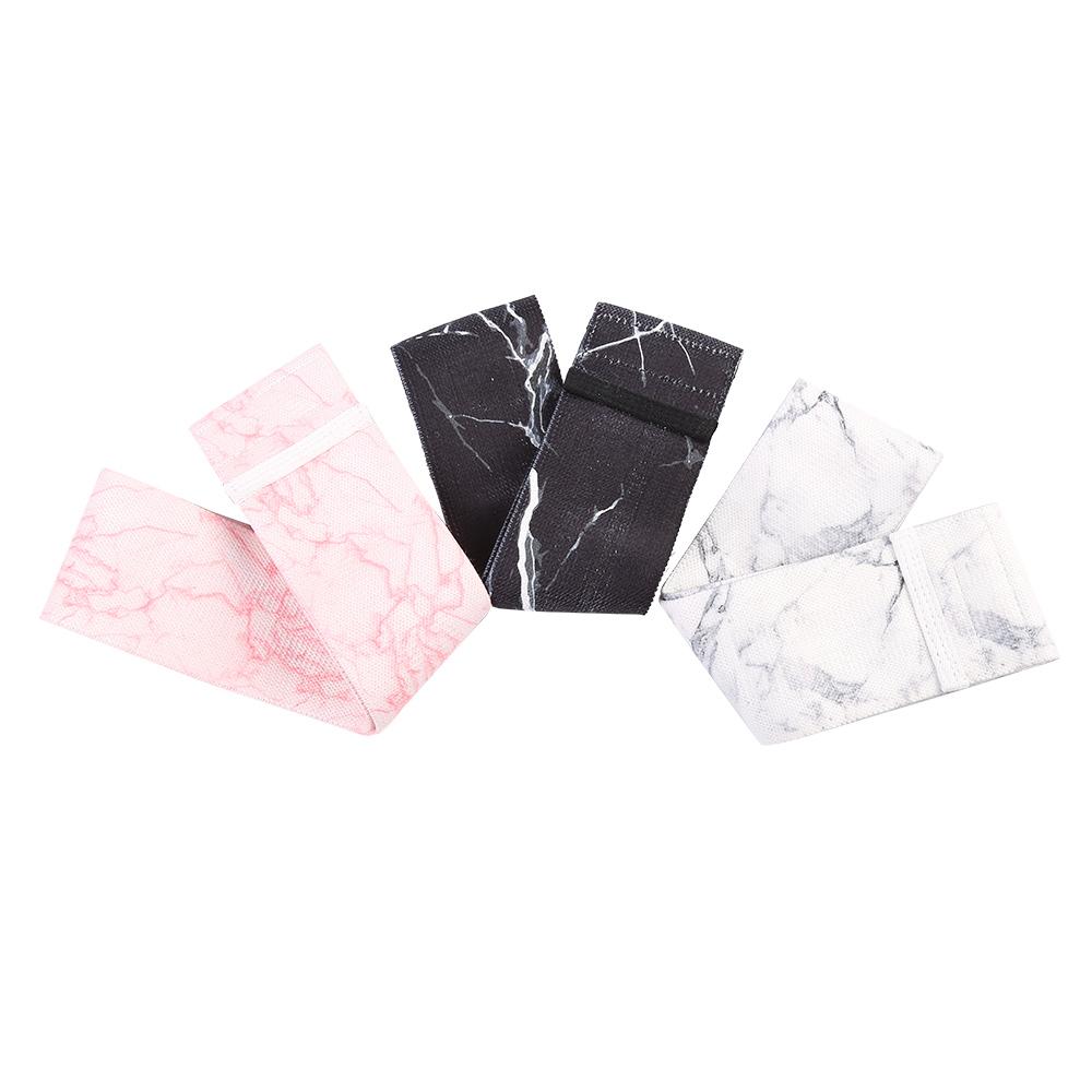 Exercice long fabric custom logo hip polyester bulk resistance loop bands sets wholesale