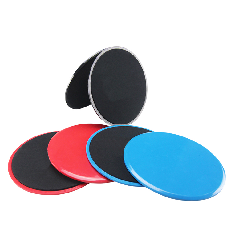 Exercise Core Sliders, Dual Sided Exercise Gliding Discs Use on Carpet or Hardwood Floors, Light and Portable, Perfect for Abdominal&Core Workouts