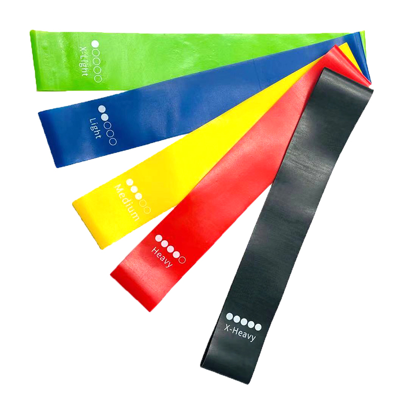 Exercise Mini Band Resistance Loop | TPR Material Latex Free Exercise Crossfit