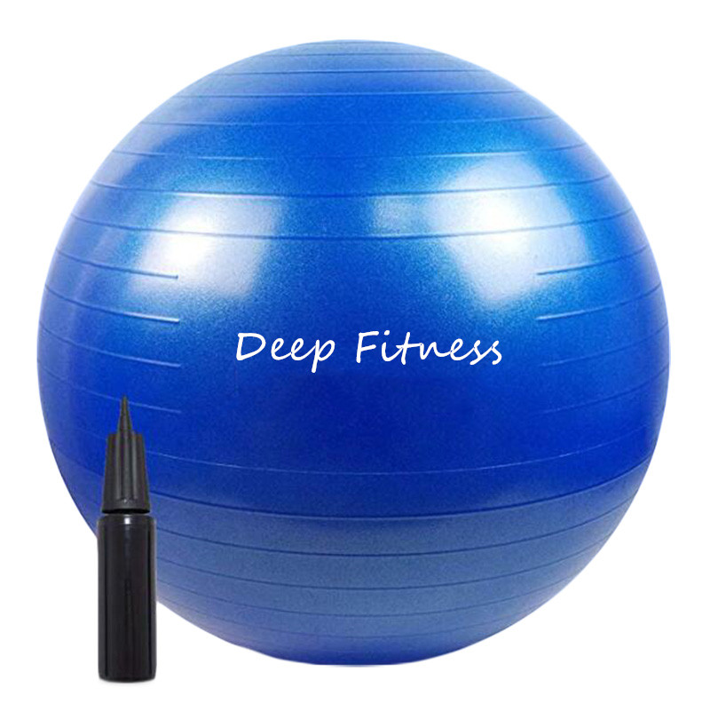 Exercise Yoga ball for body fitness PVC Gym ball with pump