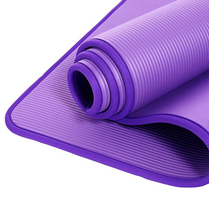 Exercise yoga matt Eco friendly Natural NBR colorful Yoga Mat