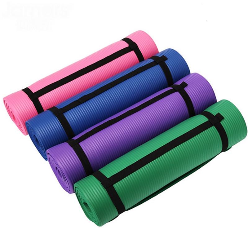 Extra Thick High Density Anti-slip NBR Material yoga mat cheap fitness yoga mat