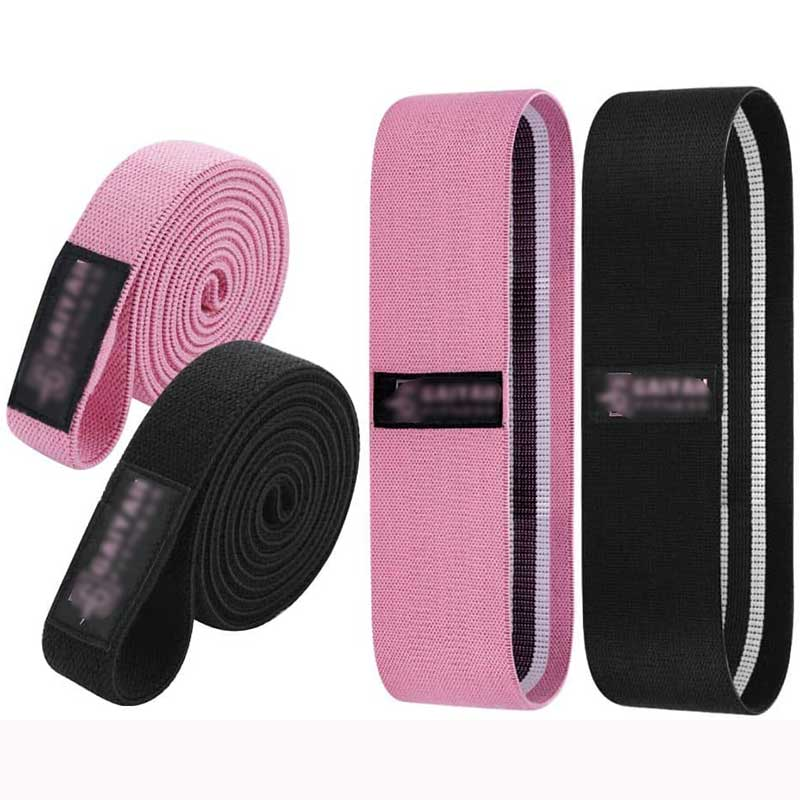 FITNESS Pull up Assist Resistance Bands - Exercise Bands for Working Out Thick Workout Bands Resistance for Women Pull up Bands Resistance Bands for Pull ups Fabric Booty Bands Set of 4