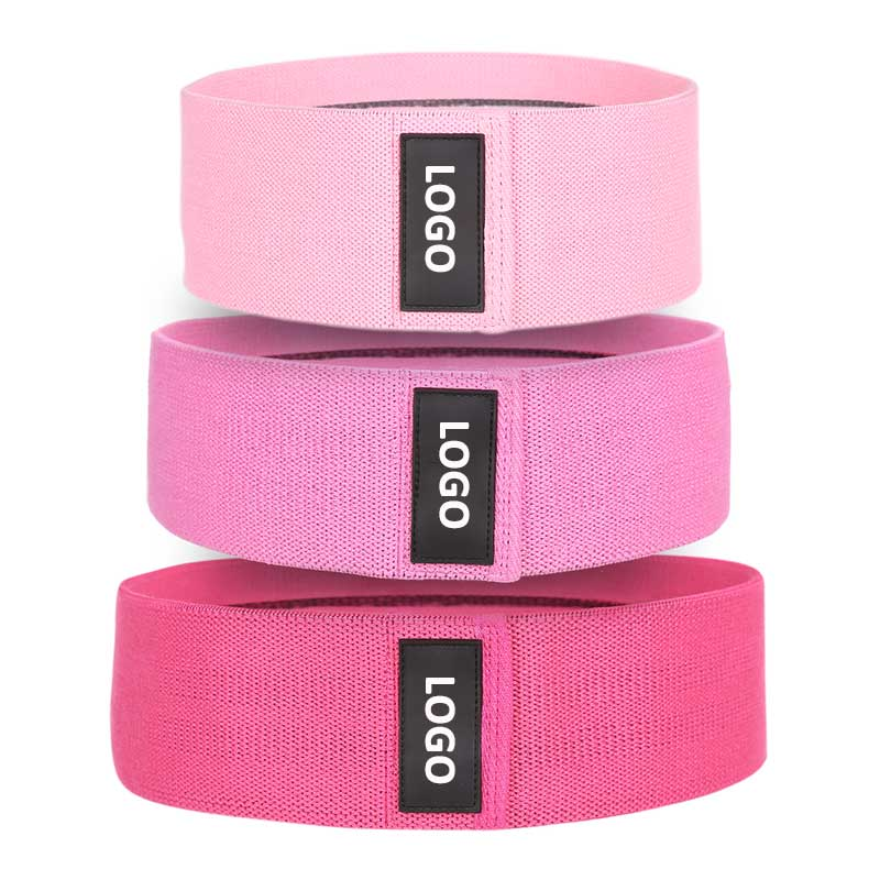Fabric Resistance Bands for Women's Butt and Legs Non-Slip Upgrade Exercise Bands for Working Out 3 Pack Elastic Workout Bands Booty Bands Training Wide Fitness Bands