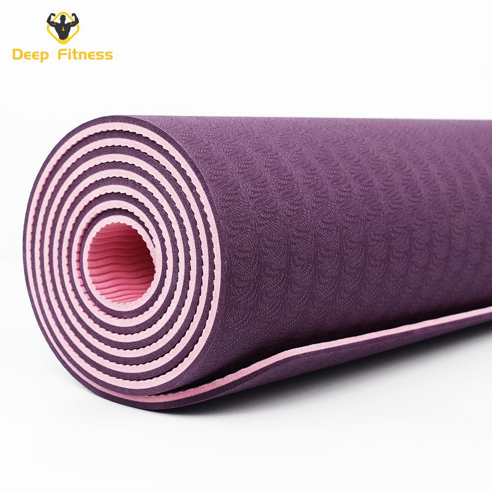 Factory price Gym exercise hot eco friendly Customized logo Yoga Mat