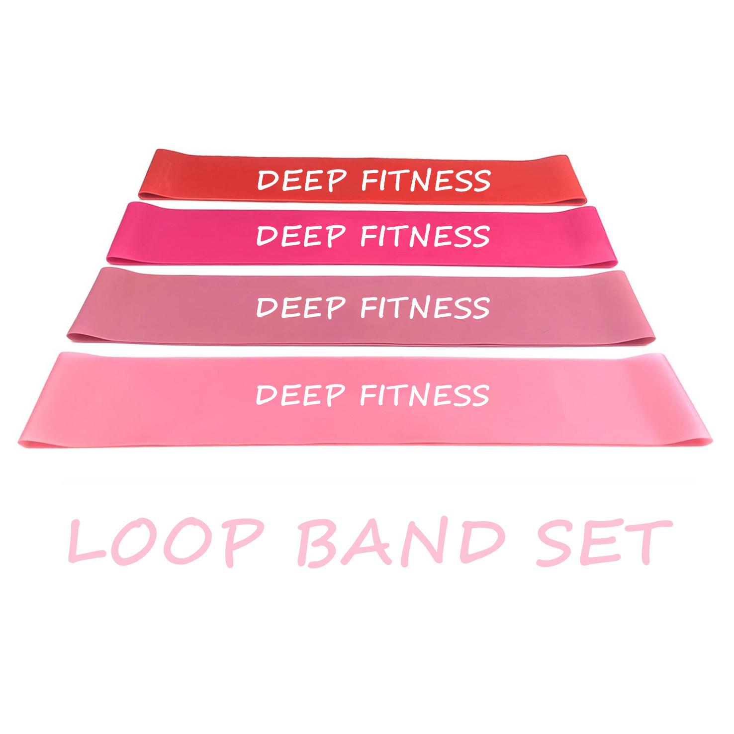 Fitness Latex Elastic band stretch 5pcs Resistance Band