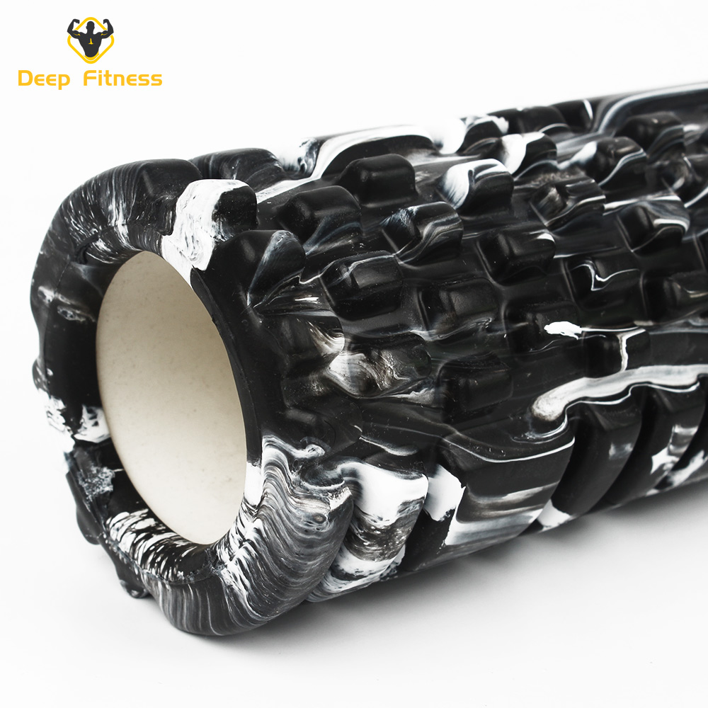 Full Color Hollow Yoga Column Roller EVAmassagestick muscle foamroller for Pilates
