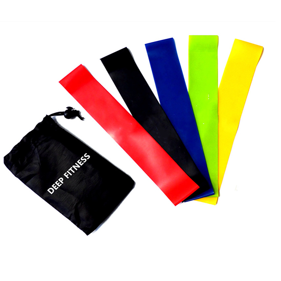 Glute Exercise fitness band Speed Resistance Band set of 5