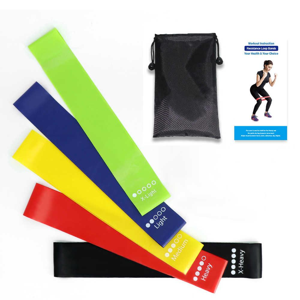 Gym Band Resistance Exercise To Strengthen The Body Power Loop Exercise Resistance Bands