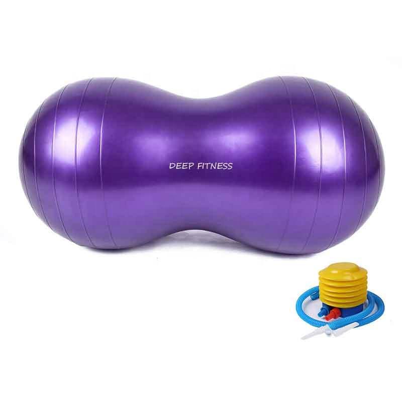 Gym exercise Peanut Yoga Ball PVC yoga ball