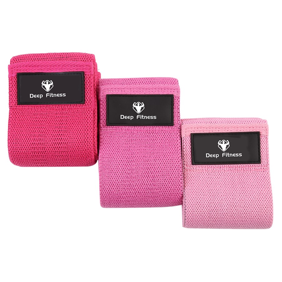 High elastic Resistance Hip Fabric band for Squat Booty workout