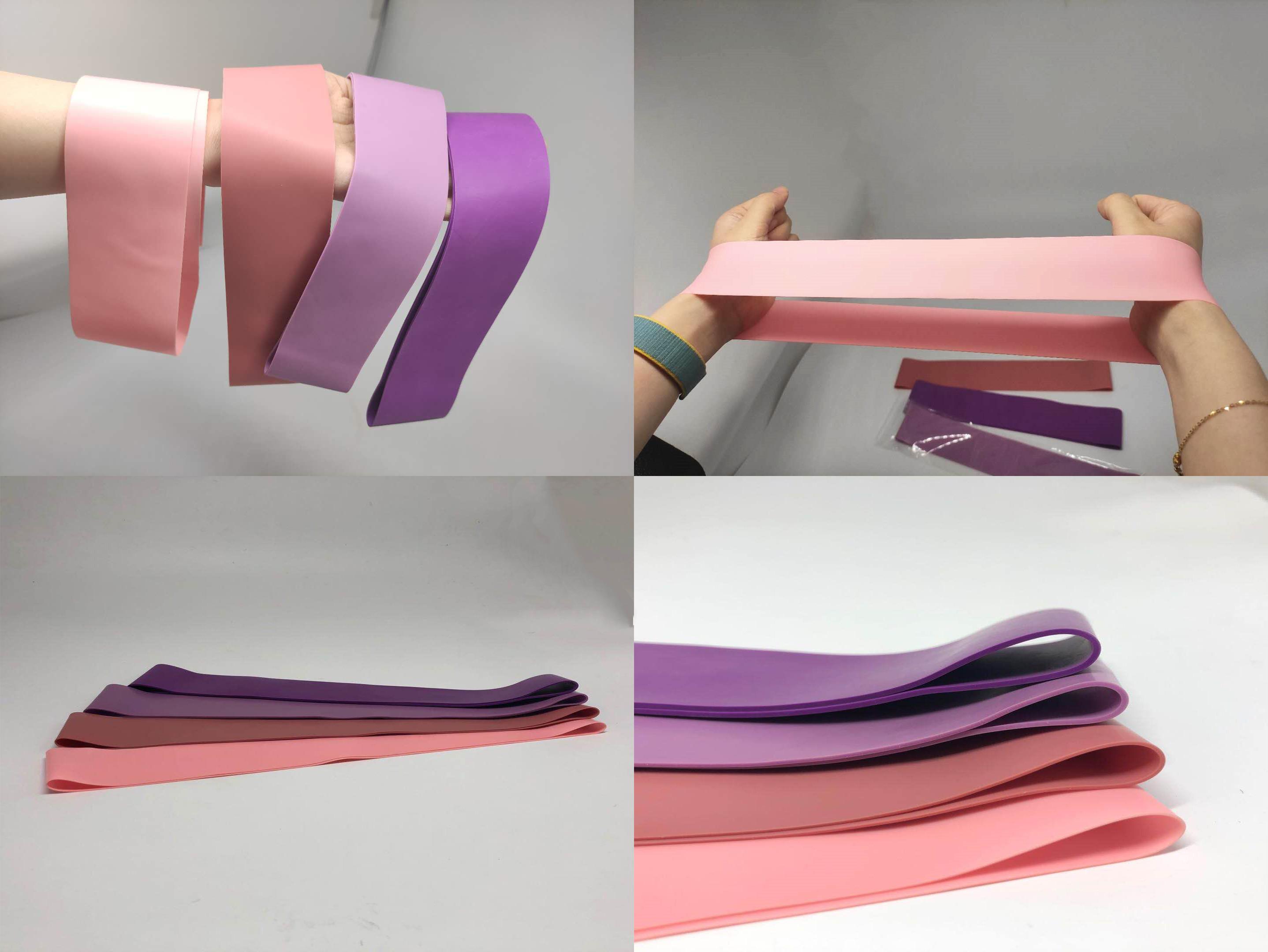 High quality latex body building gym stretch Mini Bands exercise bands