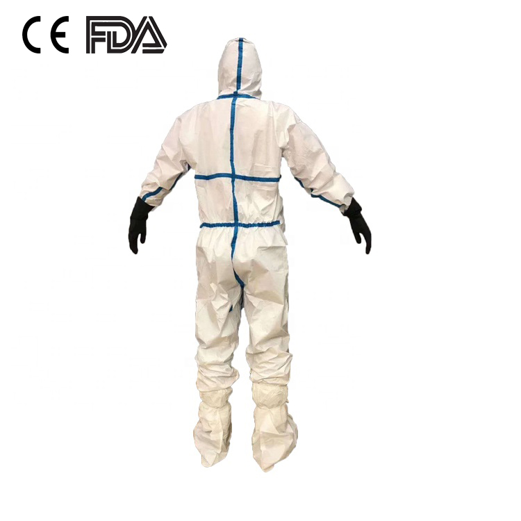 High quality medical disposable coverall clothing Protective medical use suit insulating clothing