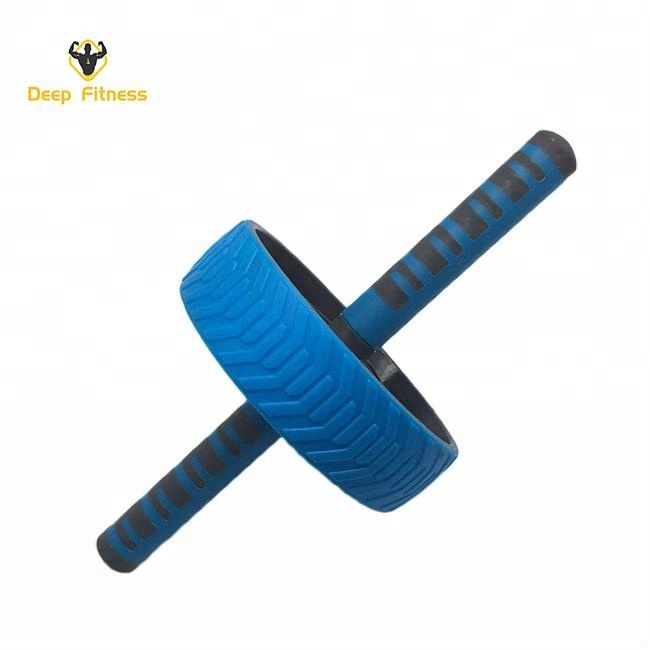 Home Fitness Back Rodillo Abdominal Exercise Equipment Plastic Core Workout Machine Ab wheel