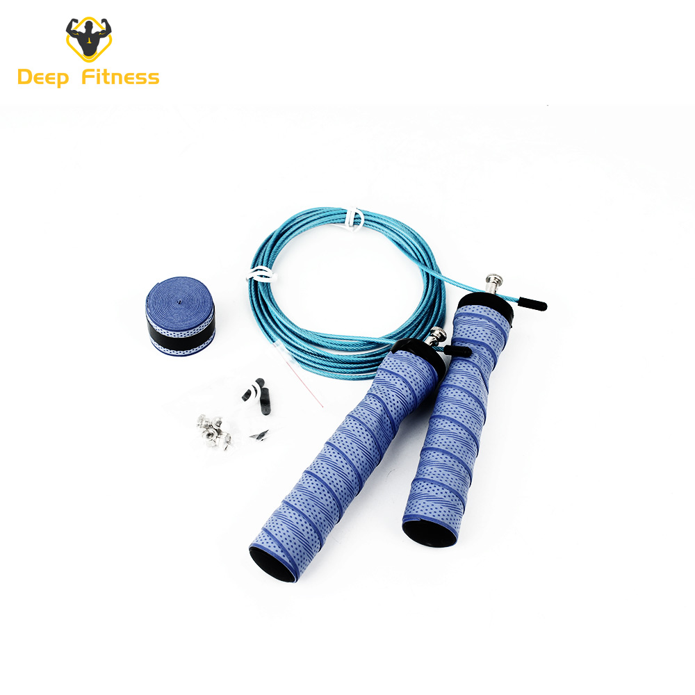 Home Training Skipping Weighted Jump Rope with Steel wire