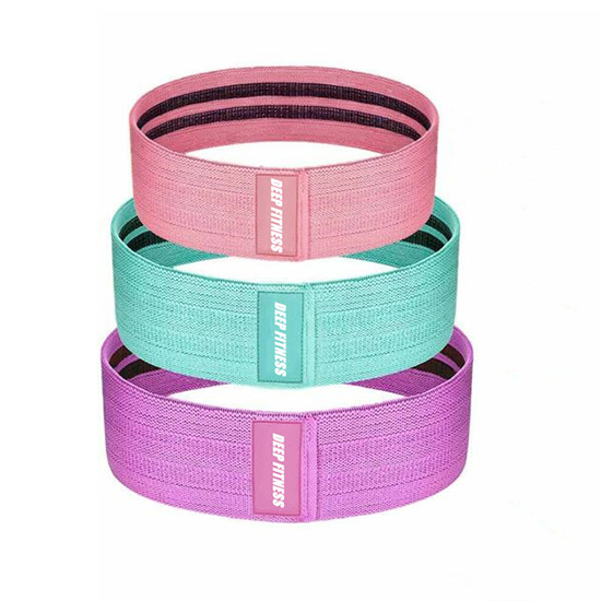 Hot sale fabric booty bands elastic hip circle band
