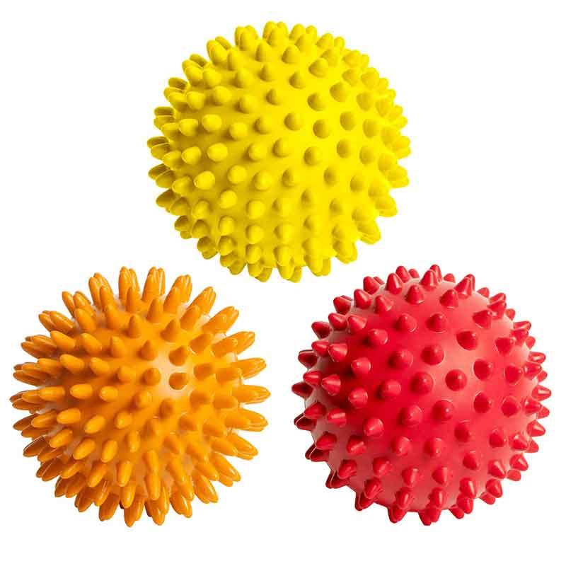 Plastic Foot 6.5cm/9cm Spiky Massage Ball exercises Fitness Custom Massage Ball