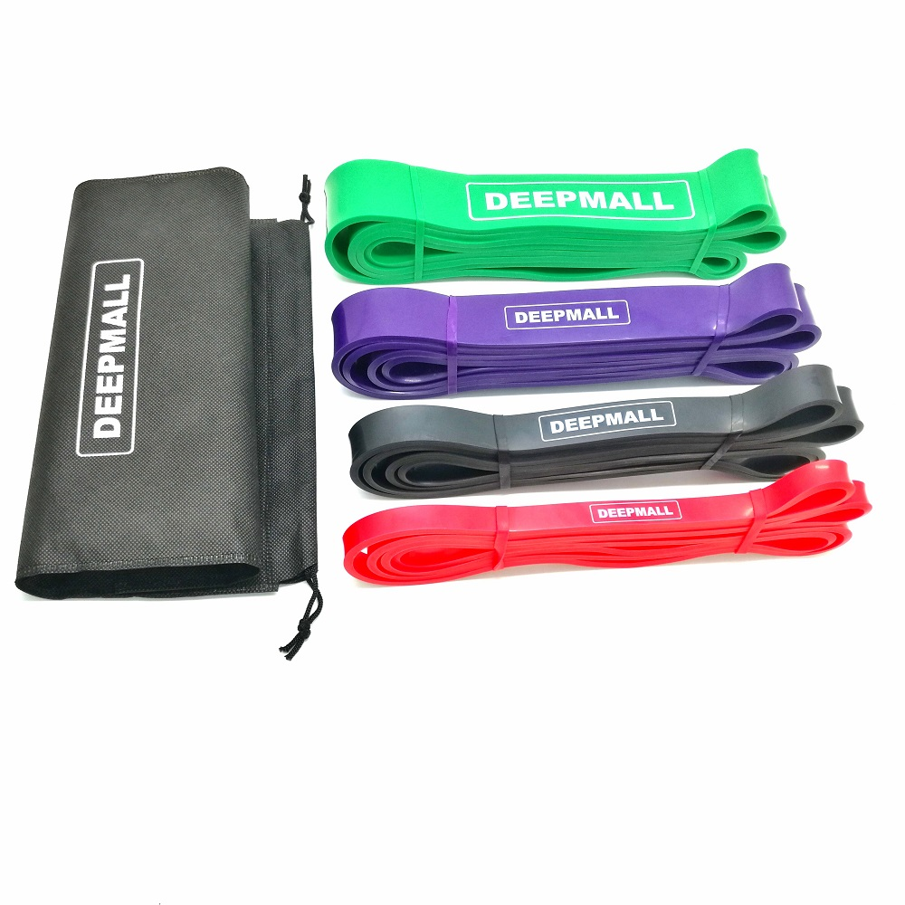 100% latex custom printed pull up assist band / heavy duty resistance bands / power bands