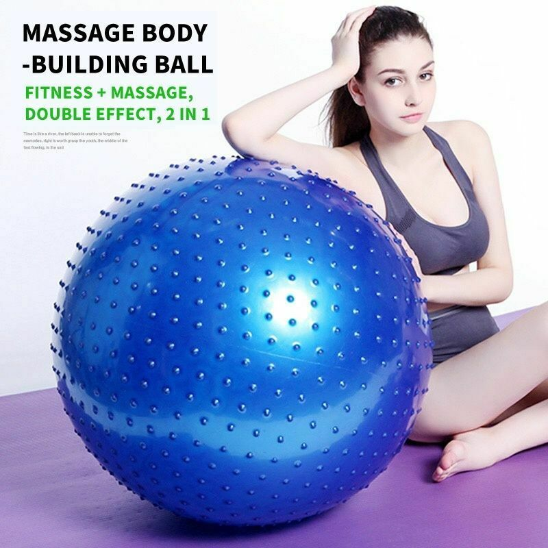 Wholesale 45cm - 120cm Inflatable Exercise Ball, Gym Fitness Training Yoga Spiky Massage Ball, Newest Knobby Ball