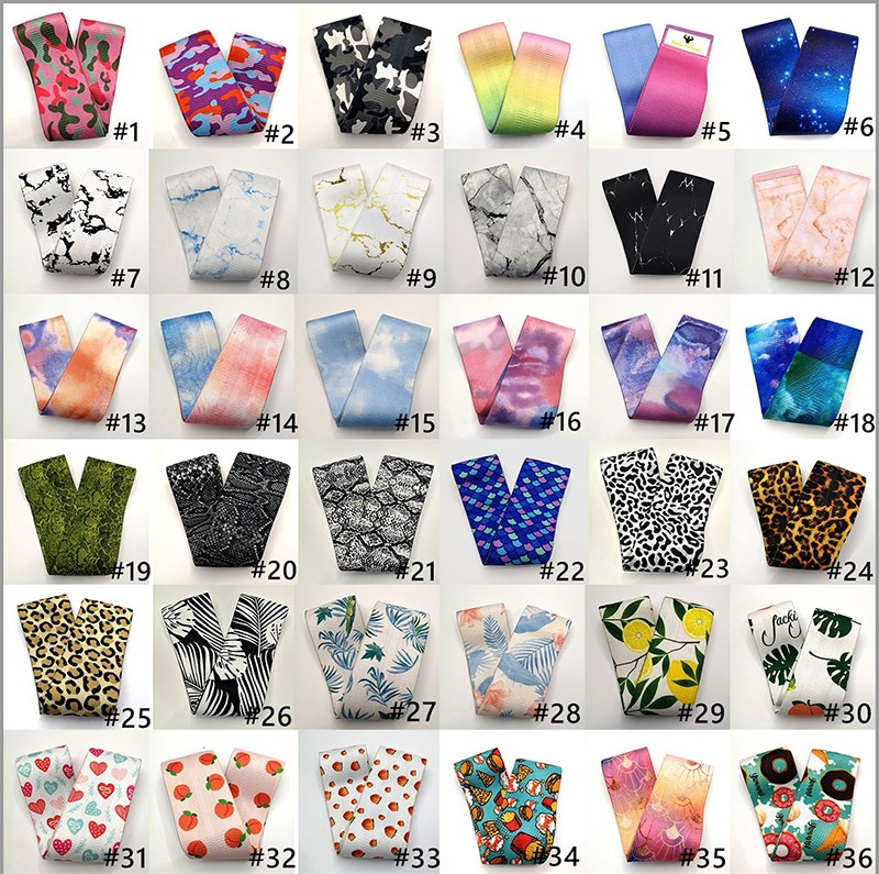 Wholesale Custom Cheap hip resistance bands / fabric booty band / hip circle exercise band