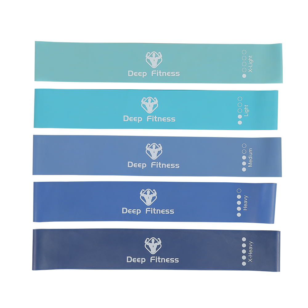 Wholesale Custom Logo Yoga Fitness Exercise Elastic Stretch Mini Latex Loop Resistance Bands