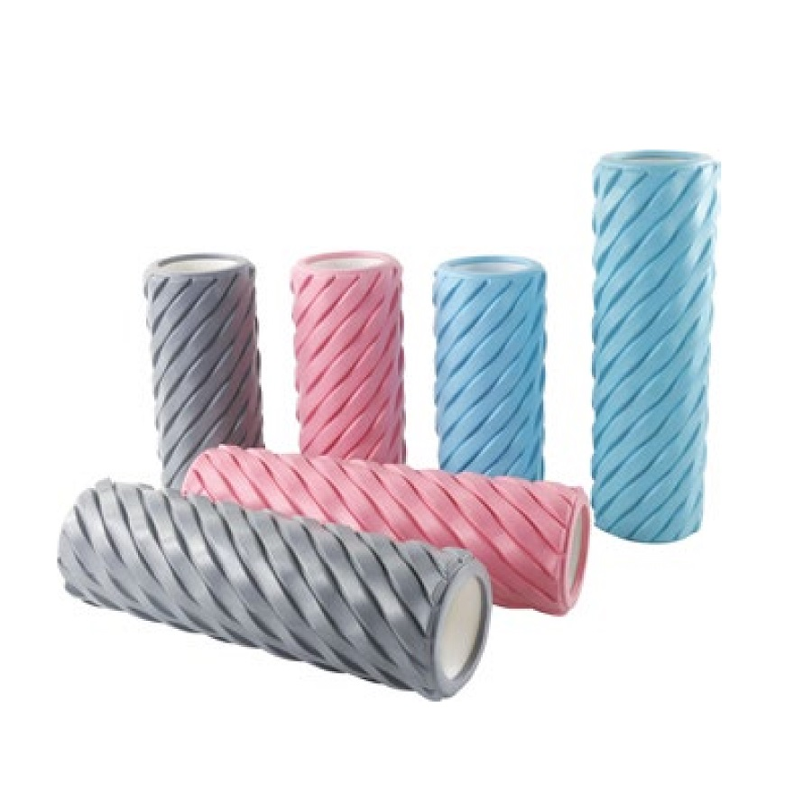 Wholesale custom EVA/EPE/EPP Form roller, Folding Yoga Mat Gym Mats, Massage stick and ball Yoga Wheel for Muscle Massage