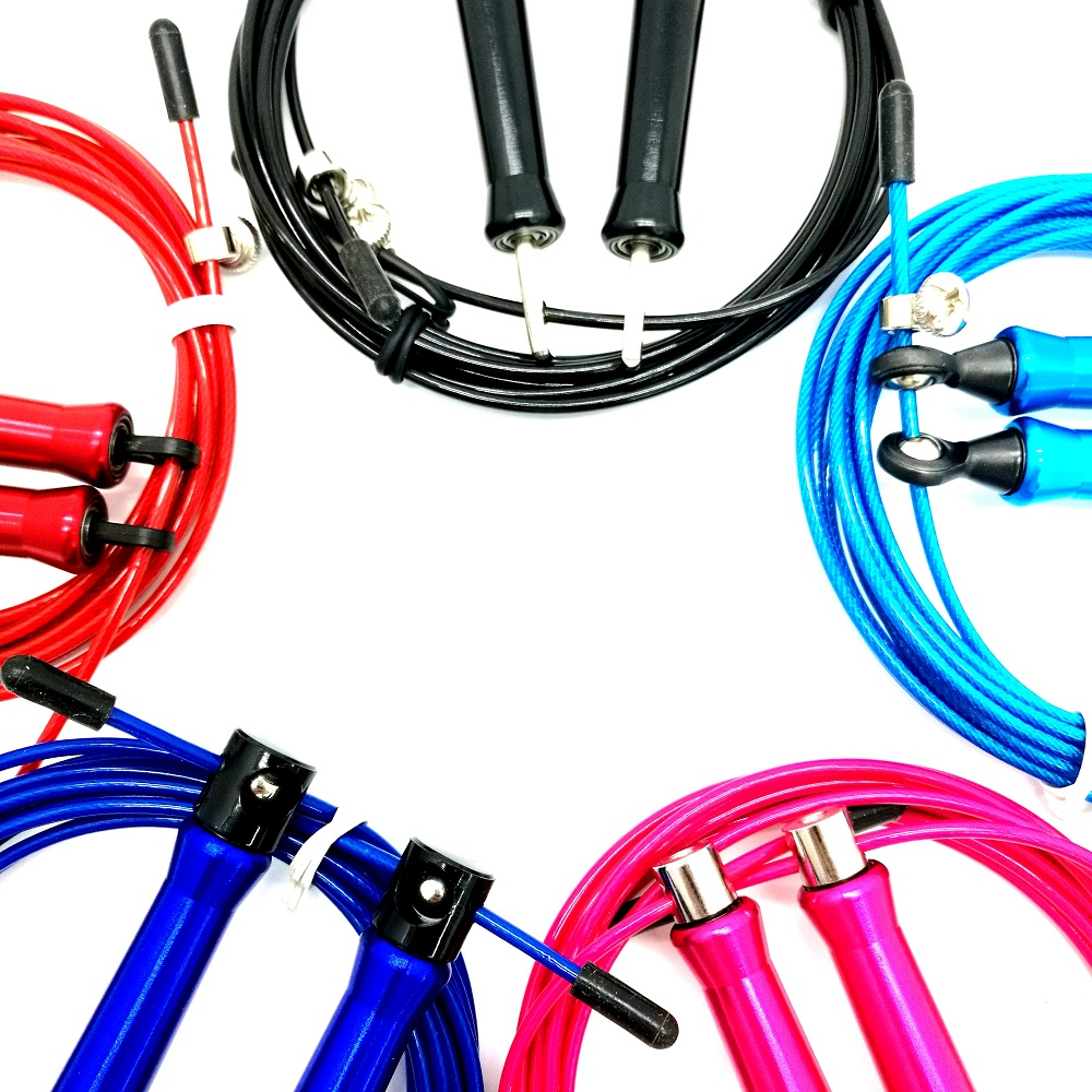 Wholesale custom Logo Aluminum Handle speed weighted / heavy jump rope, skipping jump rope, skipping rope fitness