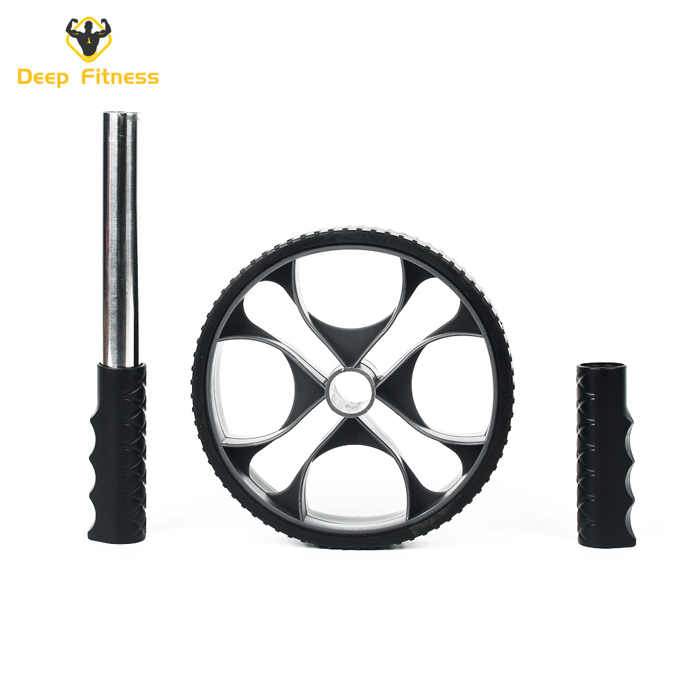Workout Roller Abdominal Exerciser Fitness Trainer Ab Wheel