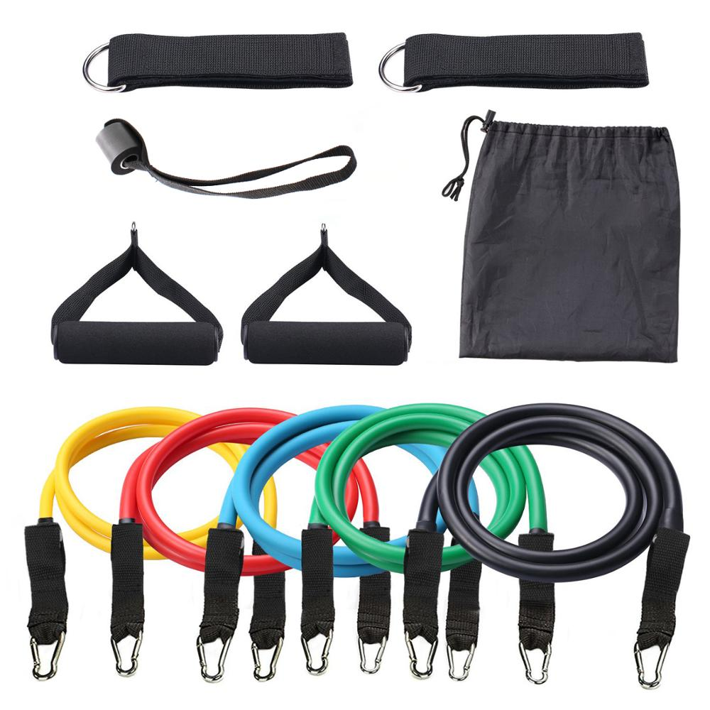 Yoga Pilates Resistance Bands Fitness Workout Bands Exercise Resistance Tube band