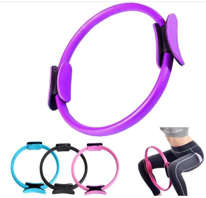 Yoga training Dual Grip Handles pilates ring magic circle