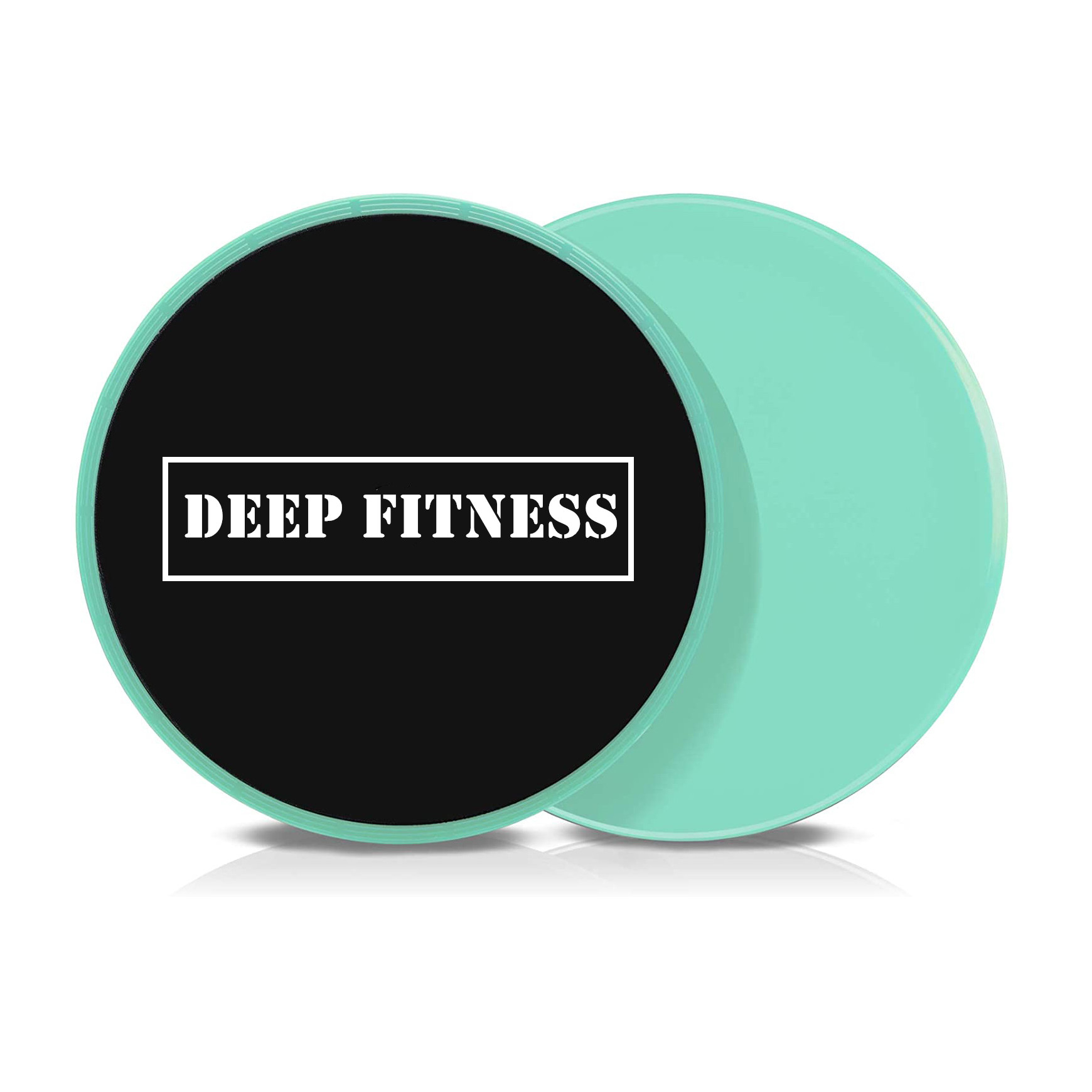 customized printed fitness workout exercise gliding discs core sliders