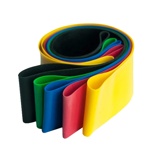 elastic stretch loop band set custom logo    latex  resistance loop band